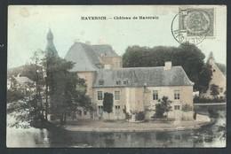 +++ CPA - HAVERSIN - Château - Couleur 1907 // - Ciney