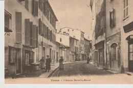 C.P.. -  VENCE -L'AVENUE MARCELLIN MAUREL - EN 1900 - LESTROHAN - REPRODUCTION - Vence