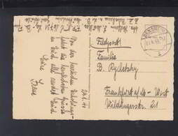 Dt. Reich AK Bensheim Feldpost  16731 Mütterheim Gauschule - Briefe U. Dokumente