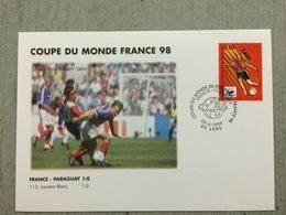 Coupe Du Monde De Football 1998, France-Paraguay 28 Juin 1998 Au Stade Felix Bollaert Lens - 1998 – France