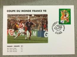 Coupe Du Monde De Football 1998, France-Croatie Le 8 Juillet 1998 Au Stade De France Saint Denis - World Cup