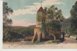 C.P.A.. -  VENCE - CHAPELLE DE SAINTE COLOMBE ET ANCIEN CHEMIN DE SAINT JEANNET - L. L. - 28 - Vence
