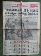 24 H Du Mans 1961.Ferrari Domine La Course.Boxe, Sebane/Chiocca.Neuille-Pont-Pierre,accident De La Route. - 1950 à Nos Jours