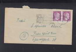Dt. Reich Brief 1944 2. Übernahme-Komp. Block D Siegen - Briefe U. Dokumente