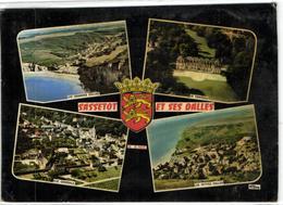 1 Cpsm Sassetot Et Ses Dalles - France