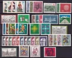 BRD 1970 (fast) Komplett (30 Pf 632 Fehlt) Alle Marken Falzlos Michel 612/631-633/657 - [7] West-Duitsland