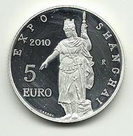 2010 - San Marino 5 Euro - Shanghai - Senza Confezione - San Marino