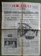 24 H Du Mans 1961.Ferrari Favori.Criterium Jeunes Pilotes. - 1950 à Nos Jours