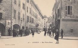 ANNECY: Rue Notre-Dame - Annecy