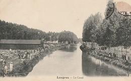 LANGRES  -  52  -  Le Canal - Langres