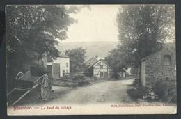 +++ CPA - MARCOUR - MARCOURT - Le Haut Du Village - Cachet Relais 1910   // - Rendeux
