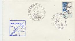 FRANCE 1986 Envelope ARIANE Kourou - Guyane.BARGAIN.!! - Brieven & Documenten