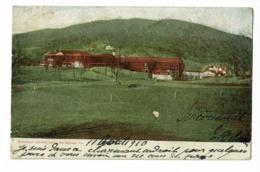 Homestead And Golf Links - Hot Springs, VA - Circulé 1910, Timbre Décollé, Voir Flamme Drapeau étoilé - Etats-Unis
