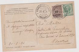 FORNO Di CANALE (BL) , Ediz. Breveglieri  - F.p. - Anni '1920 - Belluno
