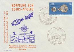 D.D.R. 1975 Envelope SOJUS - APOLLO.BARGAIN.!! - Brieven & Documenten