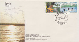 BRAZIL 1995 FDC With Birds.BARGAIN.!! - Cygnes