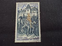 """60-69- Timbre Oblitéré N° 1579 """" Jeanne D Arc, Départ De Vaucouleurs  """"   0.30 - Oblitérés"""