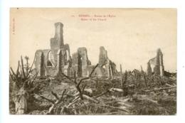 Kemmel - Ruines De L'Eglise - Ruins Of The Church / Bicbuyck 20 - Heuvelland