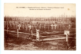 Kemmel - Cimetière De Kemmel - Château - Cemetery Of Kemmel  - Castle - Kerkhof Van Het Kasteel Van Kemmel - Heuvelland