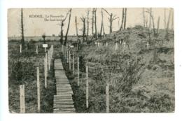 Kemmel - La Passerelle - The Foot-bridge (1920) - Heuvelland