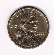 &-  U.S.A.  WASHINGTON  1 DOLLAR  2000  P - Émissions Fédérales