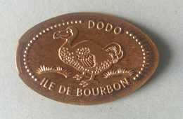 La Réunion-974- Salazie - Pièces écrasées (Elongated Coins)