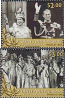 Tokelau 435-436 (complete Issue) Unmounted Mint / Never Hinged 2013 Coronation Elizabeth II. - Tokelau