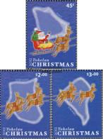 Tokelau 432-434 (complete Issue) Unmounted Mint / Never Hinged 2012 Christmas - Tokelau