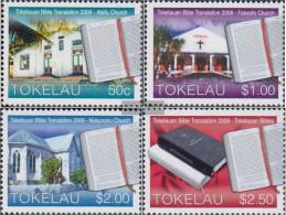 Tokelau 403-406 (complete Issue) Unmounted Mint / Never Hinged 2010 Tokelauische Bible Translation - Tokelau