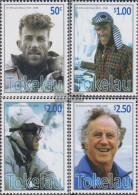 Tokelau 383-386 (complete Issue) Unmounted Mint / Never Hinged 2008 Edmund Hillary - Tokelau
