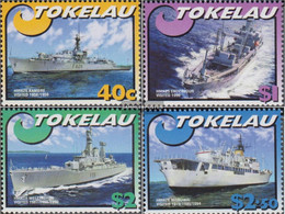 Tokelau 330-333 (complete Issue) Unmounted Mint / Never Hinged 2002 Vessels The Royal Navy - Tokelau