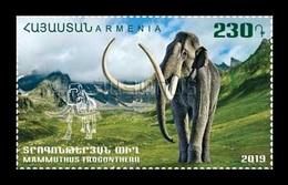 Armenia 2019 Mih. 1112 Fauna Of The Ancient World. Steppe Mammoth MNH ** - Arménie