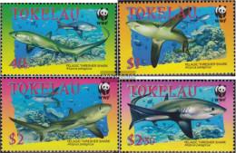 Tokelau 322-325 (complete Issue) Unmounted Mint / Never Hinged 2002 Fuchshai - Tokelau