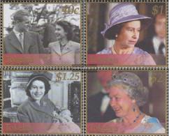 Tokelau 312-315 (complete Issue) Unmounted Mint / Never Hinged 2002 Throne Elizabeth II. - Tokelau