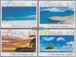 Tokelau 308-311 (complete Issue) Unmounted Mint / Never Hinged 2001 Landscapes - Tokelau