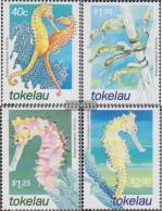Tokelau 303-306 (complete Issue) Unmounted Mint / Never Hinged 2001 Seepferdchen - Tokelau