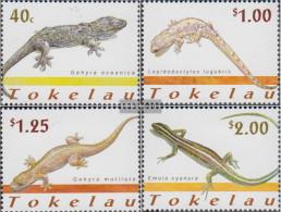 Tokelau 298-301 (complete Issue) Unmounted Mint / Never Hinged 2001 Reptiles - Tokelau