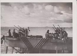 CANONS DE DCA BATEAU ALLEMAND MER DE GL DNP EISMEER FOTO DE PRESSE WW2 WWII WORLD WAR 2 WELTKRIEG Aleman Deutchland - War, Military
