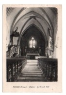(88) 455, Aouze, Edit De L'Union Des Œuvres, L'Eglise, La Grande Nef, état - France
