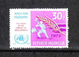 Indonesia - 1973. Spiga Di Grano. Alimentazione Mondiale. Ear Of Wheat. World Food Programm. MNH - Alimentazione