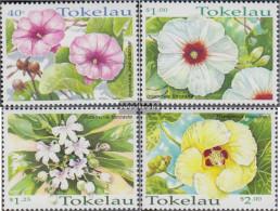 Tokelau 271-274 (complete Issue) Unmounted Mint / Never Hinged 1998 Flowers - Tokelau