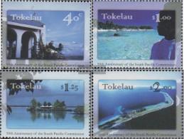 Tokelau 249-252 (complete Issue) Unmounted Mint / Never Hinged 1997 Südpazifik Commission - Tokelau