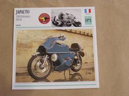 JAPAUTO 100 Endurance 950 SS France 1973 Moto Fiche Descriptive Motocyclette Motos Motorcycle Motocyclette - Non Classés