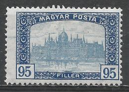 Hungary 1919. Scott #189 (M) Parliament Building At Budapest * - Hungary