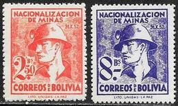 Bolivia/Bolivie: Minatore, Miner, Mineur - Minerali