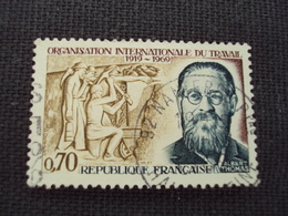 """60-69- Timbre Oblitéré N°  1600  """" Albert  Thomas  """"   0.25 - Francia"""
