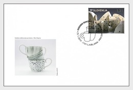 Slovenië / Slovenia - Postfris/MNH - FDC Handwerk 2019 - Slovenië