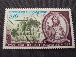 """60-69- Timbre Oblitéré N° 1610   """" Napoléon Bonaparte  """"     0.40 - Francia"""