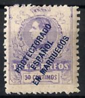 Marruecos Español Telégrafos Nº 4 En Nuevo - Marruecos Español