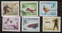 Albanie 1965 N°Y.T. : 809 à 814 Obl. - Albanië
